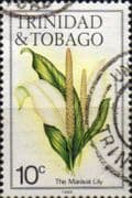 Trinidad and Tobago 1983 Flowers SG 637B Fine Used
