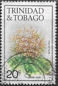 Trinidad and Tobago 1983 Flowers SG 638B Fine Used