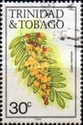 Trinidad and Tobago 1983 Flowers SG 641B Fine Used
