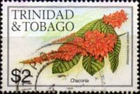 Trinidad and Tobago 1983 Flowers SG 648B Fine Used