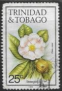 Trinidad and Tobago 1983 Flowers SG 690 Fine Used