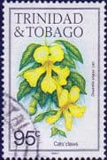 Trinidad and Tobago 1983 Flowers SG 695 Fine Used