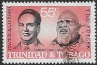 Trinidad and Tobago 1985 Labour Day. Labour Leaders SG 673 Fine Used