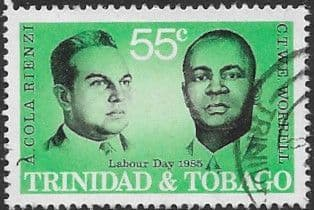 Trinidad and Tobago 1985 Labour Day. Labour Leaders SG 675 Fine Used
