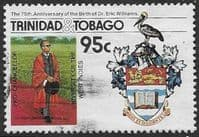 Trinidad and Tobago 1986 Dr. Eric Williams SG 719 Fine Used
