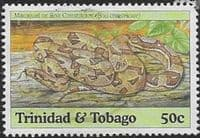 Trinidad and Tobago 1994 Snakes SG 852 Fine Used