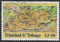 Trinidad and Tobago 1994 Snakes SG 854 Fine Used