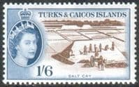 Turks and Caicos Island 1957 SG 247 Salt Cay Fine Mint