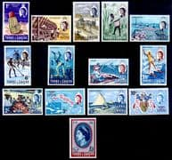 Turks and Caicos Island 1967 Industries Set Fine Mint