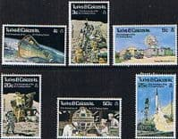 Turks and Caicos Island 1977 Tracking Station Set Fine Mint