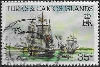 Stamps Turks and Caicos Island 1983 SG 741 Fine Mint Scott 560 Fine Mint