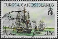 Turks and Caicos Island 1983 SG 776a Ships Fine Used