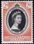Turks and Caicos Queen Elizabeth II 1953 Coronation Fine Mint