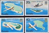 Tuvalu 1979 Internal Air Service Set Fine Mint