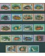 "Tuvalu 1981 Fish Set ""OFFICIAL""  Fine Used"