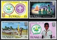 Tuvalu 1982 Boy Scout Movement Set Fine Mint