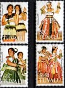 Tuvalu 1991 Christmas Set Fine Mint