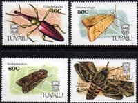 Tuvalu 1991 Insects Set Fine Mint