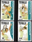 Tuvalu 1991 South Pacific Games Set Fine Mint