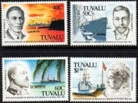Tuvalu 1992 British Occupation Set Fine Mint