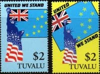 Tuvalu 2002 United We Stand Set Fine Mint