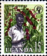 Uganda 1962 Independence SG 101 Fine Mint