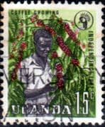 Uganda 1962 Independence SG 101 Fine Used