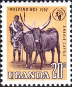 Uganda 1962 Independence SG 102 Fine Mint