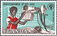 Uganda 1962 Independence SG 105 Fine Mint