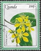 Uganda 1991 Plants from Kew Gardens SG MS 1033L Fine Used