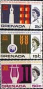 UNESCO 1966 Grenada Set Fine Used