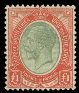Union of South Africa 1910 - 1936