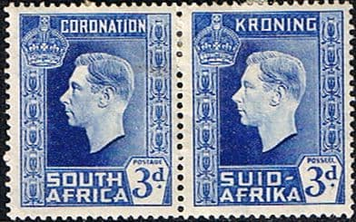 Union of South Africa King George VI 1937 - 1952