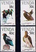 Venda 1989 Endangered Birds Set Fine Mint