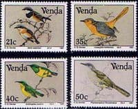 Venda 1991 Birds Paintings by Claude Finch-Davies Set Fine Mint