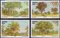 Venda 1991 Indigenous Trees Set Fine Mint