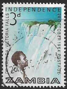 Zambia 1964 Independence SG 91 Fine Used