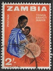 Zambia 1964 Industries SG  103 Fine Used