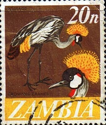 Postage stamps of Zambia 1968 Decimal currency SG 136 Fine Used Scott 46