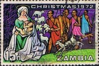 Zambia 1972 Christmas SG 183 Fine Used
