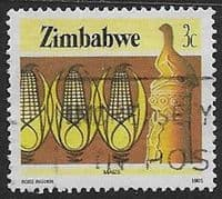 Zimbabwe 1985 National Infrastructure SG 660 Fine Used