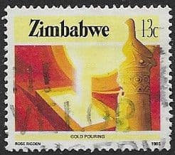 Stamps of Zimbabwe 1982 Boy Scout Movement Set Fine Mint
