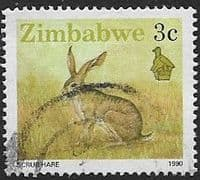 Zimbabwe 1990 Wildlife SG 770 Fine Used