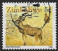 Zimbabwe 1990 Wildlife SG 772 Fine Used