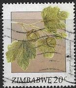 Zimbabwe 1991 Wild Fruit SG 810 Fine Used